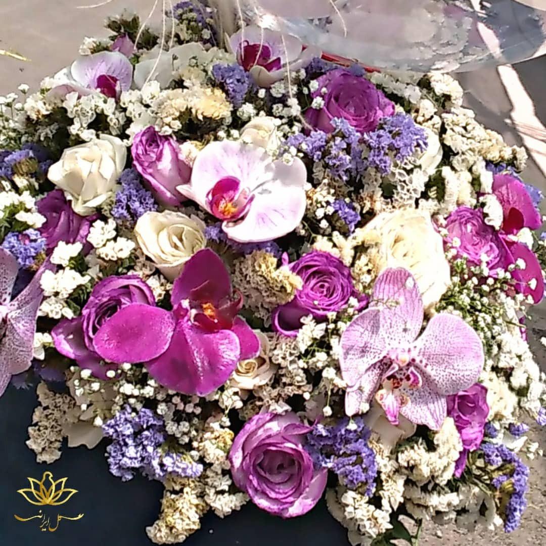 خرید باکس گل و بادکنک ارزان قیمت باکس گل و بادکنک گل ایرانی بازار گل
