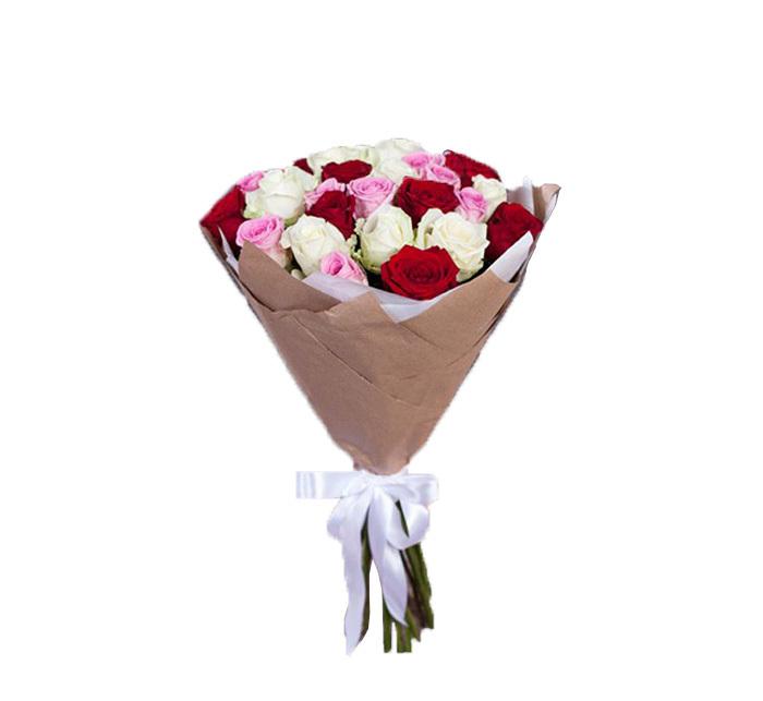 خرید و قیمت دسته گل آرام سفارش دسته گل رنگی دسته گل رز قیمت دسته گل رز گل ایرانی بازار آنلاین گل و گیاه