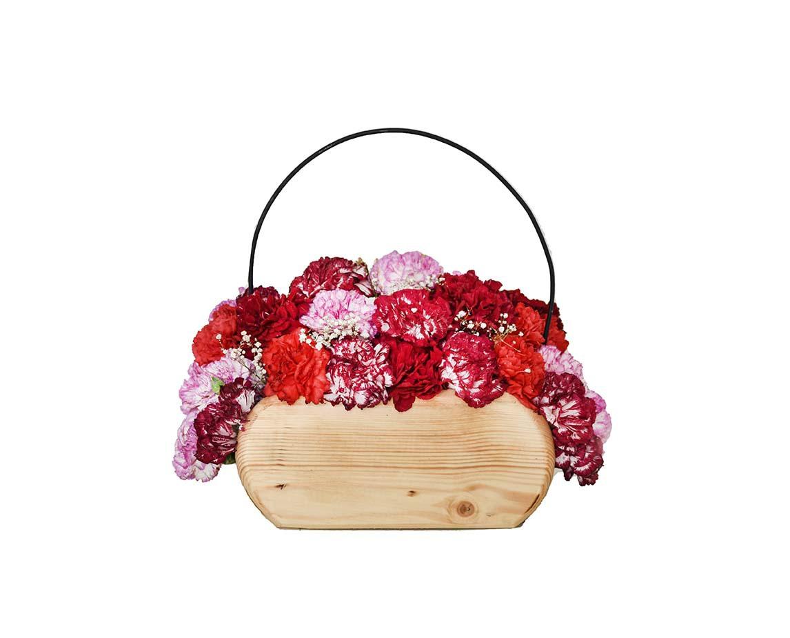 خرید و قیمت باکس گل مهرو سفارش باکس گل میخک باکس گل چوبی باکس میخک ارزان سفارش باکس گل تولد گل عیادت گل ایرانی