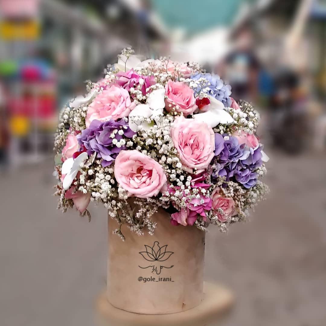 خرید و قیمت باکس گل ماهرخ سفارش آنلاین باکس گل خرید اینترنتی باکس گل قیمت باکس گل تولد