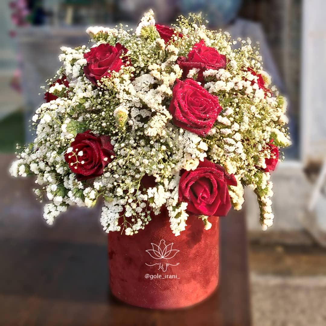 خرید و قیمت باکس گل محرم راز سفارش باکس گل رز باکس گل ارزان خرید باکس گل ساده باکس گل تولد