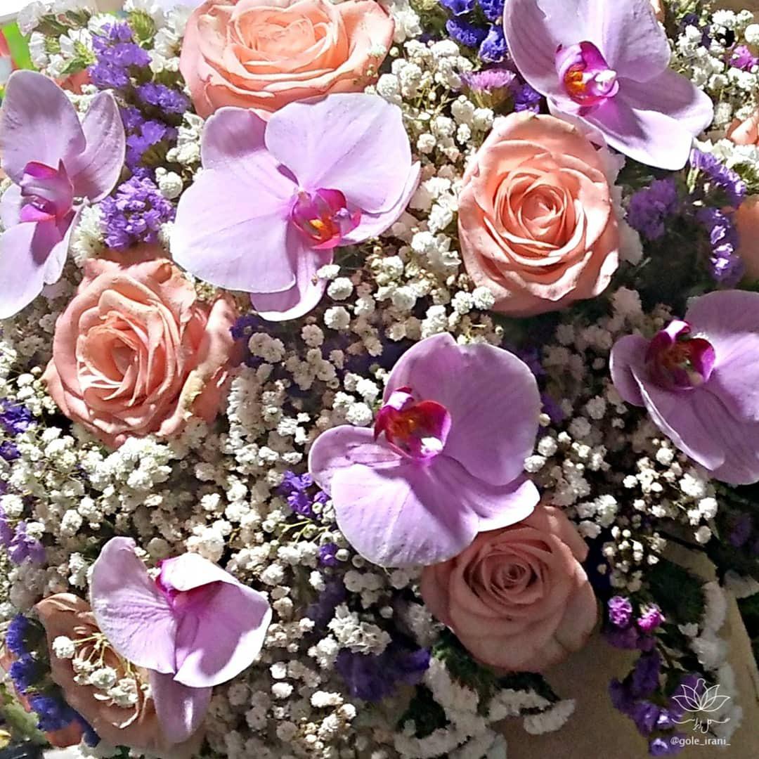 باکس گل تولد خرید باکس ارزان سفارش باکس گل دخترانه تولد پاییزی سورپرایز تولد