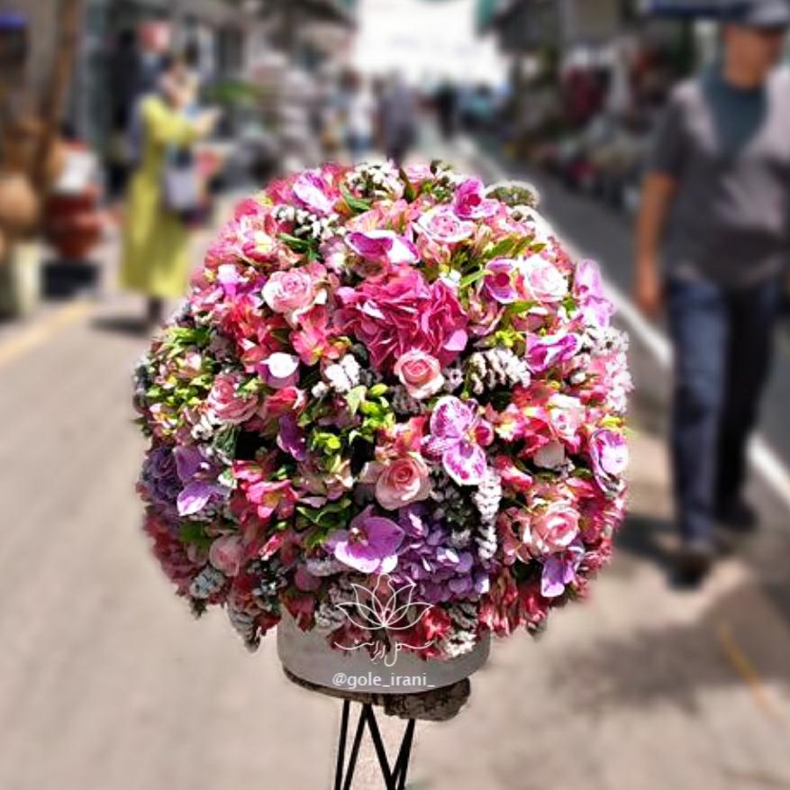 خرید و قیمت باکس گل نغمه سفارش باکس گل با ارسال رایگان باکس گل مناسب تولد قیمت باکس گل تولد سفارش اینترنتی باکس گل