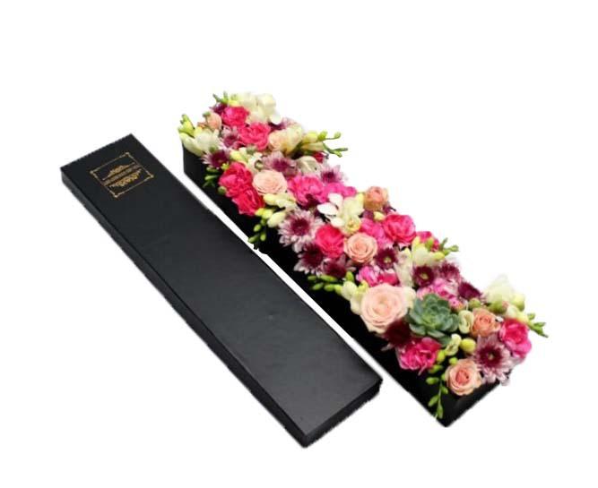 خرید و قیمت باکس گل یاقوت سفارش باکس گل یاقوت قیمت باکس گل رنگی باکس گل ارزان گل ایرانی قیمت باکس گل