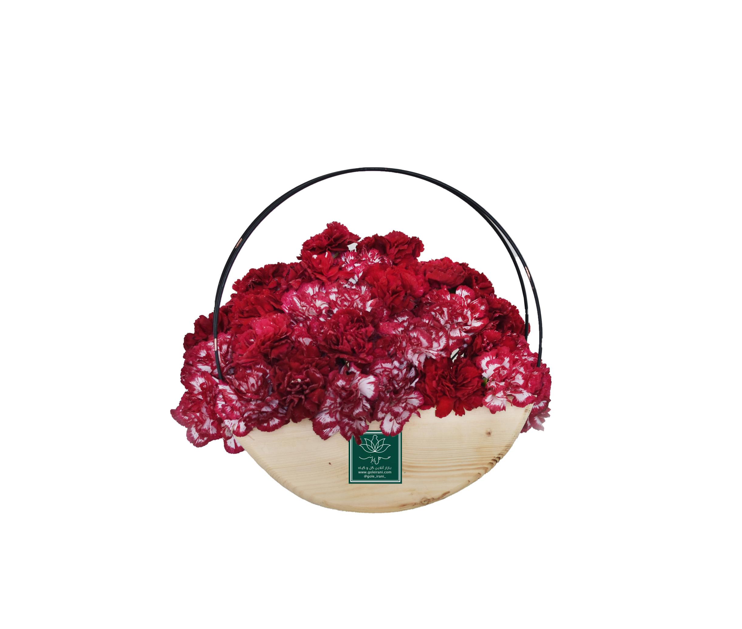 خرید و قیمت باکس گل سروش سفارش باکس گل میخک باکس گل ارزان سفارش باکس گل با ارسال رایگان گل ایرانی بازار گل و گیاه