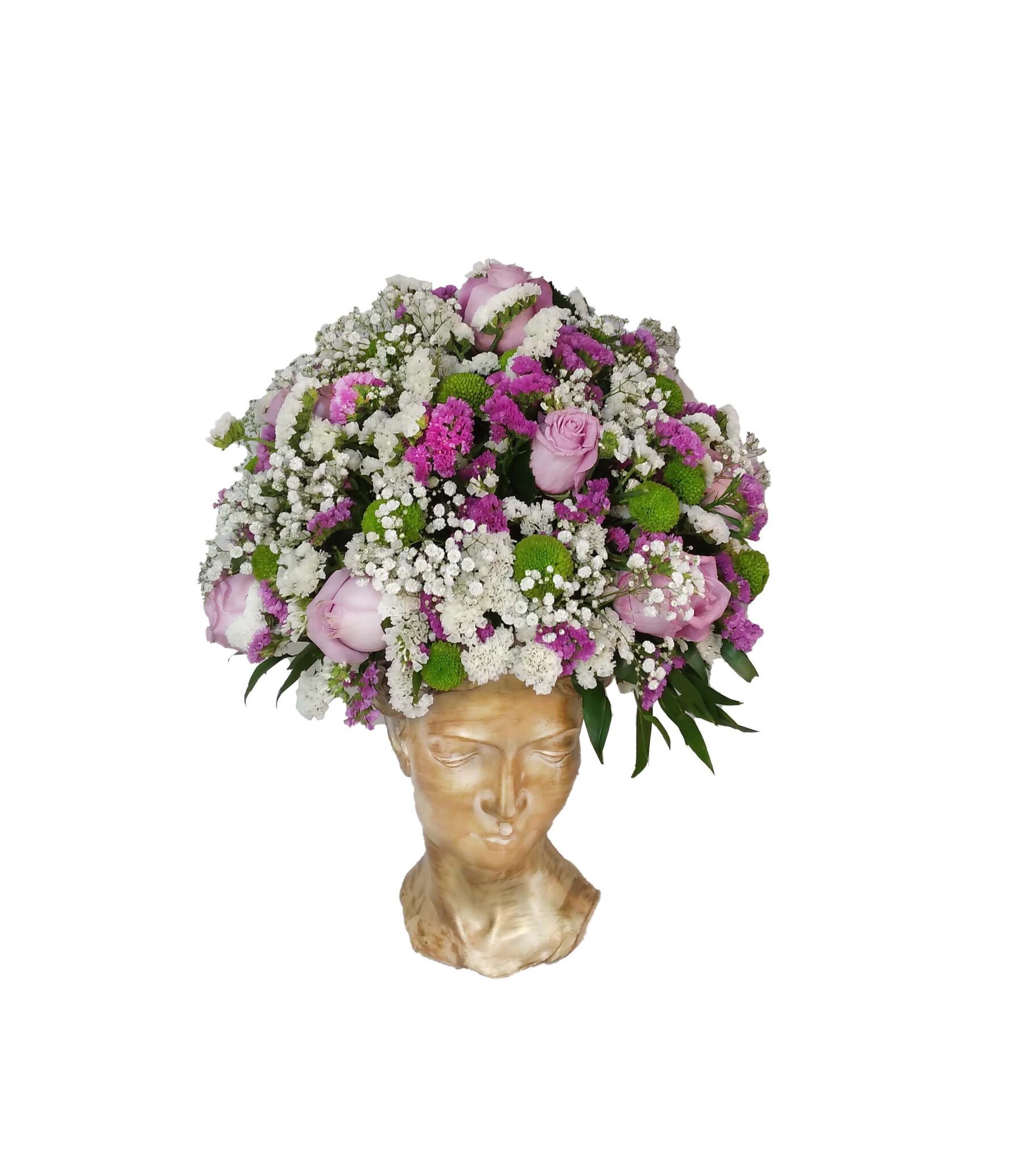 خرید و قیمت باکس گل الهه ناز سفارش باکس گل ارزان باکس گل تندیس زن باکس گل دخترانه خرید باکس گل با ارسال رایگان