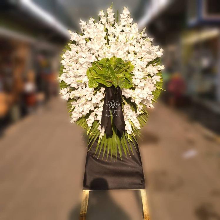 خرید و قیمت تاج گل احزان تاج گل ارزان سفارش تاج گل برای ختم تاج گل شیک قیمت تاج گل ترحیم