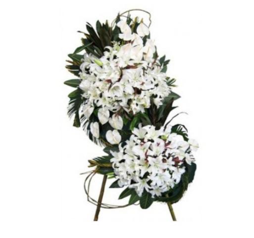خرید و قیمت پایه گل افلاک سفارش پایه گل ترحیم خرید پایه گل ترحیم با ارسال رایگان تاج گل ارزان گل ایرانی