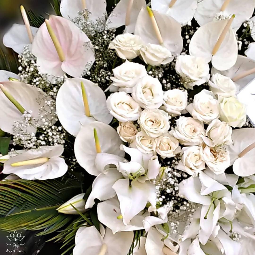 خرید گوی گل ترحیم با ارسال رایگان سفارش گوی گل از بازار آنلاین گل ایرانی گوی گل خواستگاری سفارش گوی گل