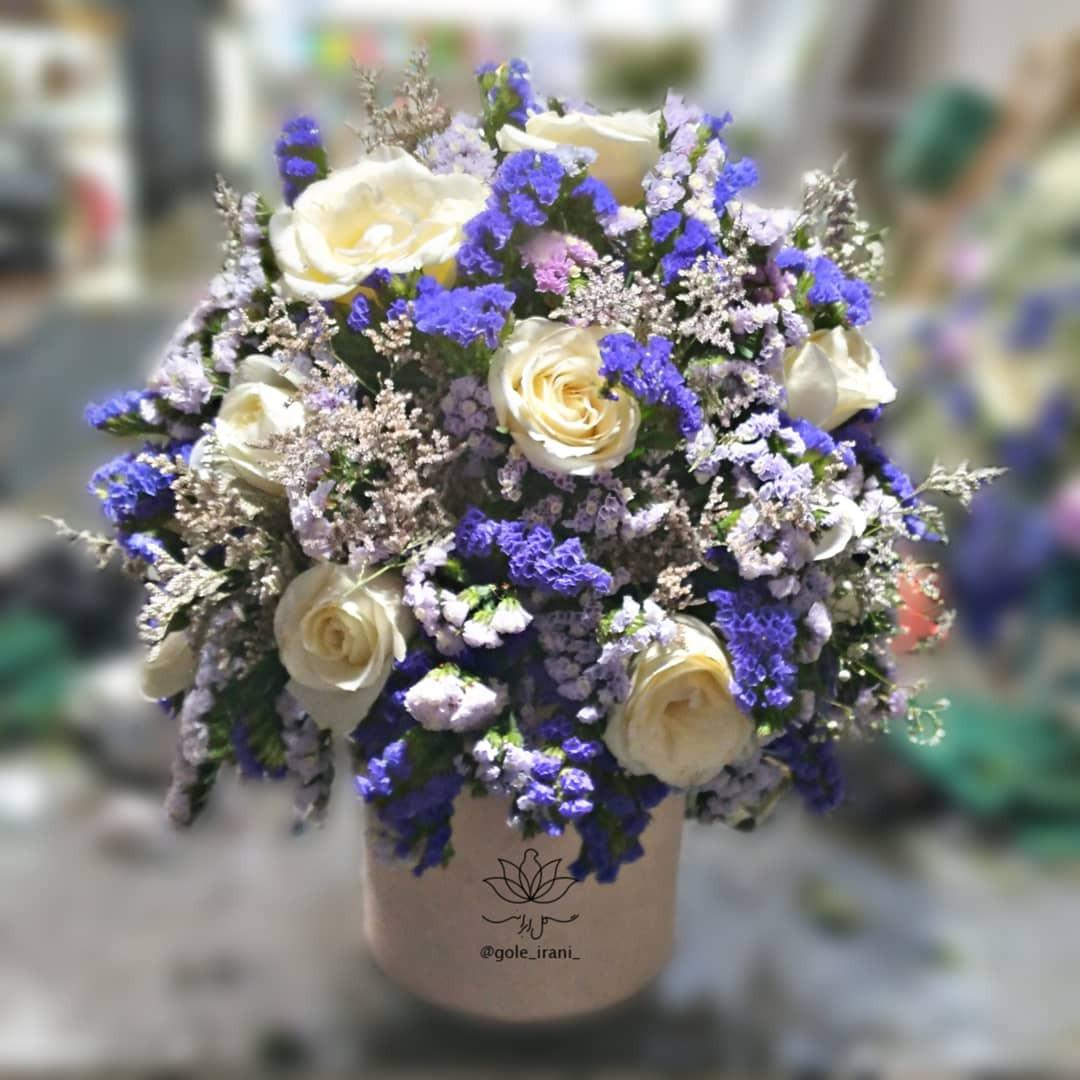 خرید و قیمت باکس گل آرام دل قیمت باکس گل رز باکس گل ارزان گل ایرانی ارسال رایگان باکس گل