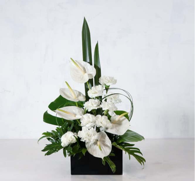 خرید و قیمت باکس گل گلرخ قیمت باکس گل ترحیم باکس گل ارزان خرید باکس گل از بازار گل ایرانی